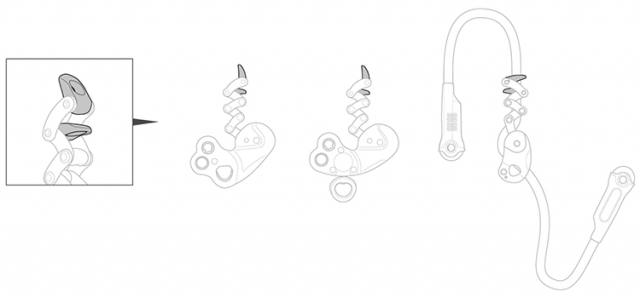 ZigZag release levers