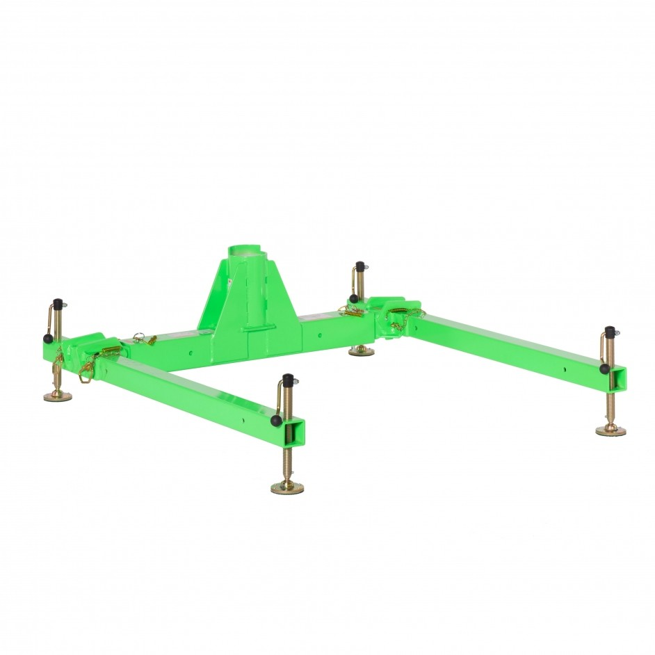DBI Sala 3 Piece Davit Base High Capacity