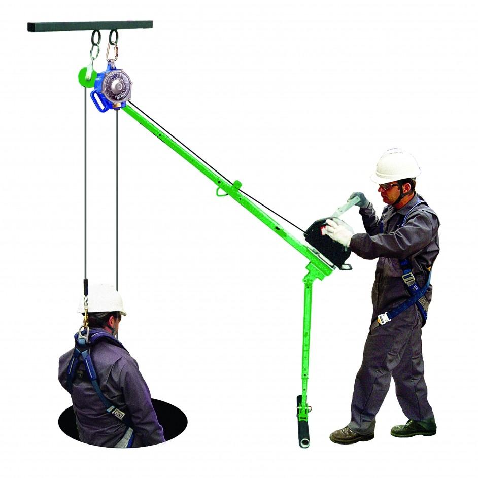 3M DBI Sala Pole Hoist System