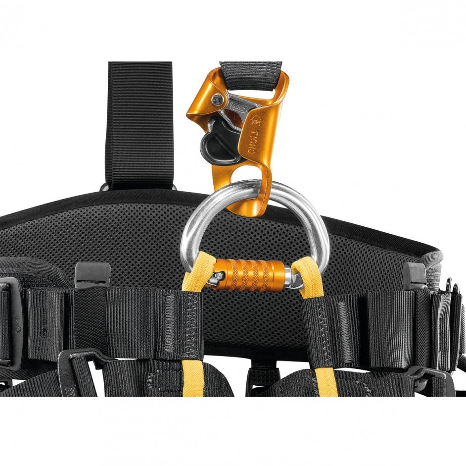 PETZL Falcon Ascent met Croll